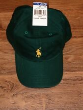 POLO RALPH LAUREN BASEBALL CAP HATS CLASSIC PONY LOGO ONE SIZE ADJUSTABLE NWT