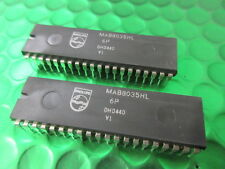MAB8035, 8035, de un solo chip 8-BIT Microcontrolador, Audio, Video, Juegos. * 2 * por