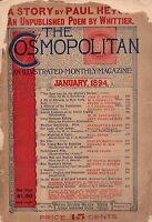 1894 Cosmopolitan January - Frederic Remington; Palermo; Capri;God and Happiness