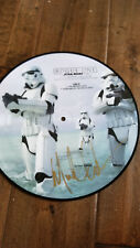 2017 SDCC MICHAEL GIACCHINO SIGNED AUTO DISNEY STAR WARS ROUGE ONE PICTURE DISC
