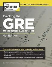 Cracking the GRE Mathematics Subject Test, 4th Edition by Steven A. Leduc