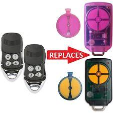 2 x ATA PTX-5 PTX5 Replacement Remotes GDO 6v3 7v2 7v3 8v3 9v2 9v3