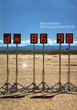 Depeche Mode 1998 Singles Tour Concert Program Book / Ex 2 Near Mint