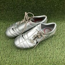 NIKE TOTAL 90 AIR ZOOM III SILVER FOOTBALL BOOTS USED SIZE UK 9.5 US 10.5