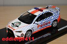 1/43 MITSUBISHI LANCER EVOLUTION EVO X AUSTRALIA POLICE PATROL CAR VITESSE 29317