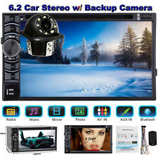 "For Audi A1 A5 A6 A7 Car Stereo Radio Double 2DIN 6.2"" DVD Player+ Backup Camera"