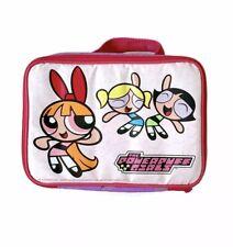 758fcbec957fb 90s Cartoon Network Powerpuff Girls Blossom Bubbles Buttercup Lunch Box Bag  Pink
