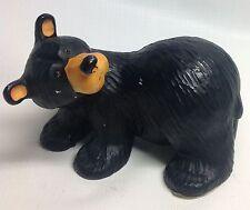 Bearfoots black bear figurine Walking Willie