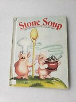 Stone Soup HC Weekly Reader Books Retold By Marilyn Sapienza 1984 good vintage