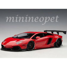 AUTOart 79108 LIBERTY WALK LB WORKS LAMBORGHINI AVENTADOR 1/18 MODEL CAR RED