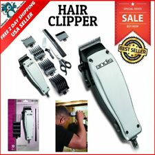 Andis Hair Clippers Beard Trimmer Easy Cut Barber Haircut Men Kit Silver Machine