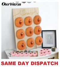 Donut Doughnut Wall Stand Party Wedding Favour Birthday Sweets Candy Cart WRITE