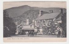 Coniston,U.K.Crown Hotel & Old Man,Horse Drawn Wagon,Cumbria,Lake Distr.,c.1909