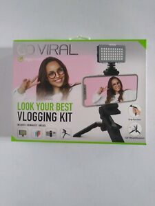 digipower GO VIRAL Vlogging Kit Camera Tripod Stand NIP