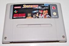 Starwing Super Nintendo SNES PAL