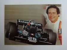 Danny Ongais Indianapolis 500 Postcard Out of Print New Interscope Racing
