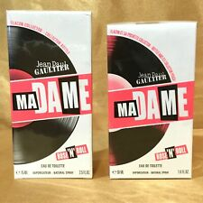 Jean Paul Gaultier Madame Rose'n'Roll EDT Toilette Collector Bottle Choose Size