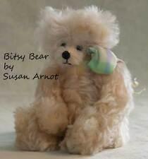 RARE NWT Handmade Susan Arnot  Pocket Bear Collection Bitsy Bear 6 in Vintage