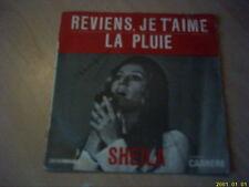 Vinyle 45 tours : Sheila : Reviens, je t'aime