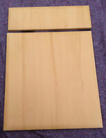 Dark Beech kitchen unit cabinet cupboard beveled edge door fits Howdens MFI B&Q