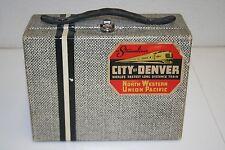 Vintage Lunchbox North Western Union Pacific Streamline Railroad Train Rare WOW