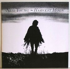 NEIL YOUNG HARVEST MOON CD NEW
