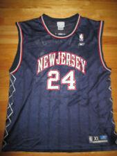Reebok RICHARD JEFFERSON No. 24 NEW JERSEY NETS (XL) Jersey