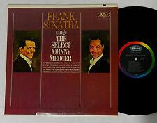 "FRANK SINATRA ""SINGS THE SELECT JOHNNY MERCER ""  CAPITOL RECORD ALBUM  LP"