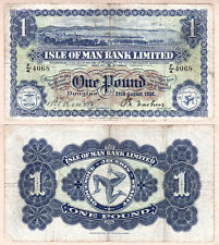 1956 One Pound Isle of Man Bank Limited, gFine