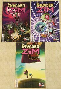 INVADER ZIM (2015)  Set #1 - 3 NM  (ONI Press) !!