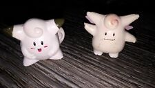 Official Tomy Pokemon Clefairy Clefable Figurines