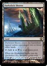 DARKSLICK SHORES Scars of Mirrodin MTG Land RARE