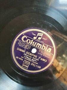 78 Tours Carlo Buti Chanter Dimmi Tout le Temps T'Amo / Passion Columbia DQ1168