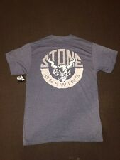 Stone Brewing Co Rock Solid Mens T-Shirt Clothing Tee Craft Brew Beer Sz Medium