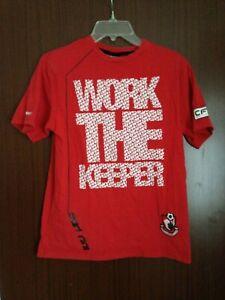 AFC Bournemouth Club Shop Kids T Shirt Carbrini Work The Keeper Size 12-13yrs