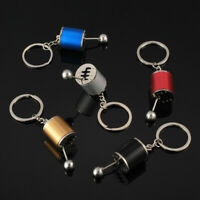 Car Auto Part Metal Piston Key Ring Chain Keyring Keyfob Pendant Zinc Alloy Gift