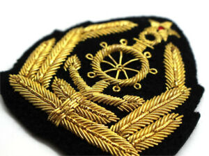 Custom Bullion Patches, Custom Made Blazer Bullion Badges, Bullions Crests Patch