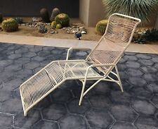 Vintage Mid Century Eames Era Ames Aire Patio Rocking Chaise Lounge Walter Lamb