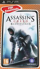 ASSASSIN'S CREED BLOODLINES Essentials PSP-SIGILLATO Nuovo di zecca e