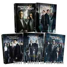 Person of Interest Complete TV Series Seasons 1 2 3 4 5 Box / DVD Set(s) NEW!