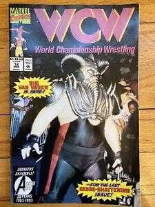 WCW WORLD CHAMPIONSHIP WRESTLING # 12 Mar MARVEL COMICS 1992