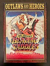 Blazing Saddles Outlaws and Heroes DVD, 1974 (WITH SLIPCOVER) VHTF SAME-DAY SHIP