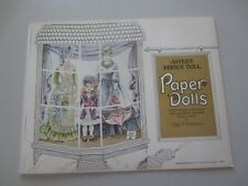 1975 Antique French Doll Paper Dolls by Peggy Jo Rosamond