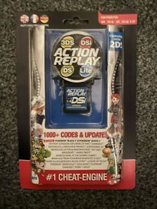 DATEL ACTION REPLAY CHEAT CARTRIDGE SYSTEM DS DS LITE DSI DSI XL 3DS