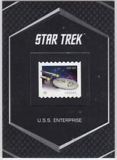 STAR TREK THE ORIGINAL SERIES CAPTAINS COLLECTION SS1 CANADIAN STAMP ENTERPRISE