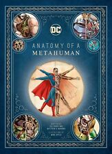 Dc Comics: Anatomy of a Metahuman Poster by Insight Editions Exclusive Sdcc 2018
