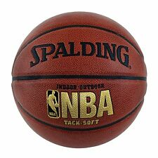 "Spalding NBA Tack Soft Basketball - Official Size 7 (29.5"")"