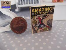 Comic Miniaturwiedergabe . Spiderman # 0 1962 1/12 Maßstab