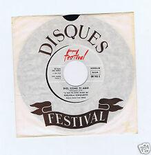 45 RPM GIGLIOLA CINQUETTI DIO COME TI AMO JUKE BOX SAN REMO 1966