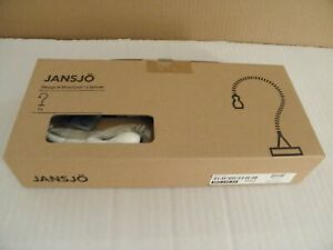 NEW Ikea JANSJO Flexible Gooseneck Lamp WHITE  # 902.142.33 LED Desk Work Lamp